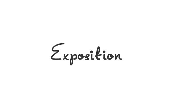 Exposition font thumb