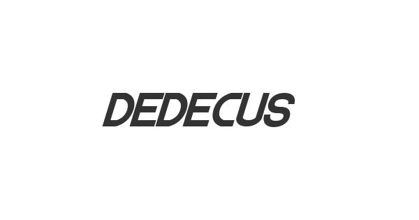 Dedecus font thumb