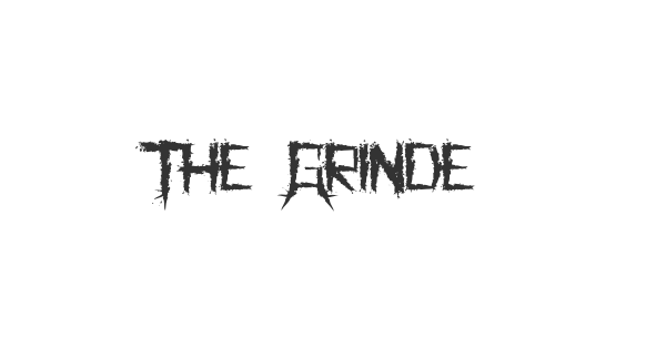 The Grinder font thumbnail