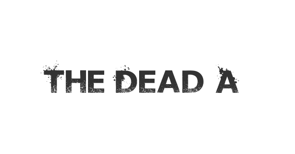 The Dead Are Coming font thumb