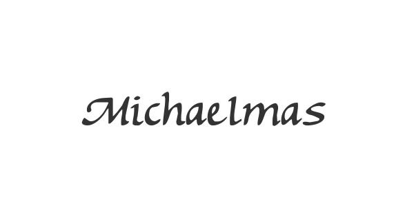 Michaelmas font thumbnail