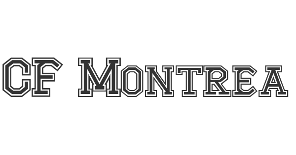 CF Montreal High School font thumb