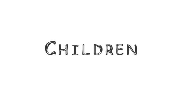 Children font thumbnail