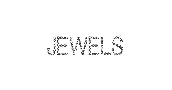 Jewels font thumbnail