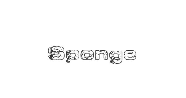 Sponge font thumbnail