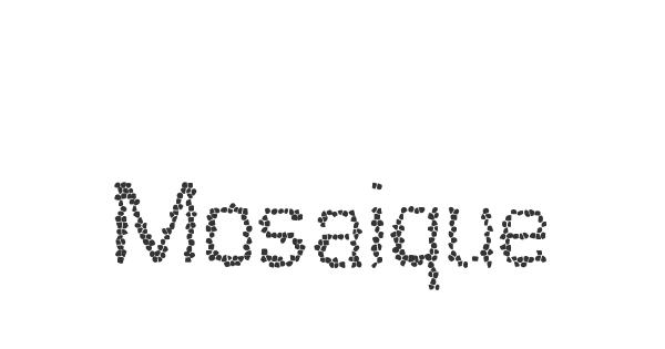 Mosaique font thumb