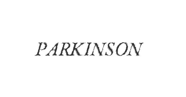 Parkinson font thumb