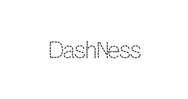 DashNess font thumbnail