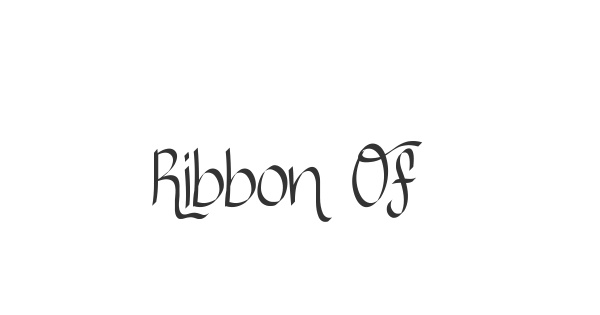 Ribbon Of hope font thumbnail