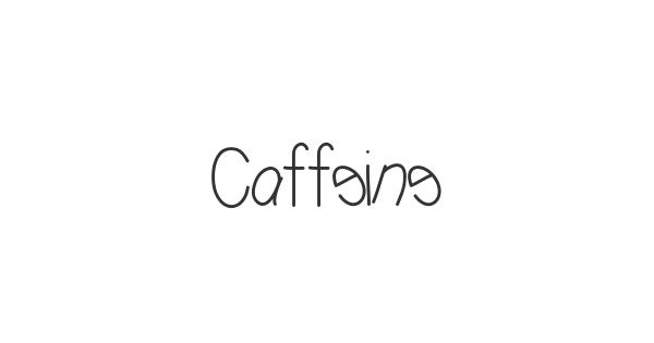 Caffeine font thumb
