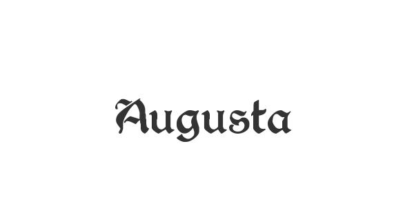 Augusta font thumbnail