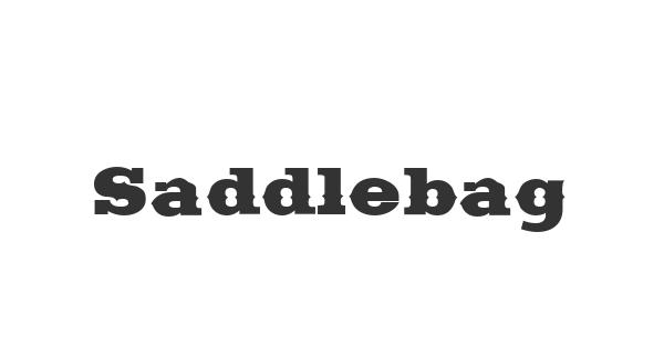 Saddlebag font thumb