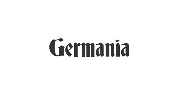 Germania font thumbnail