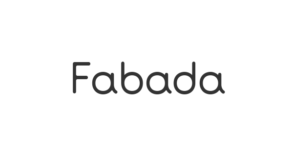 Fabada font thumb