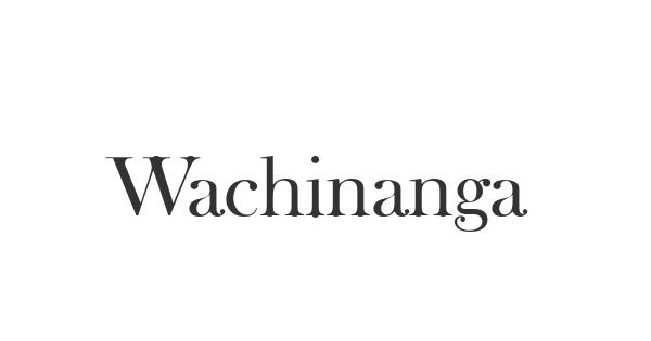 Wachinanga font thumb