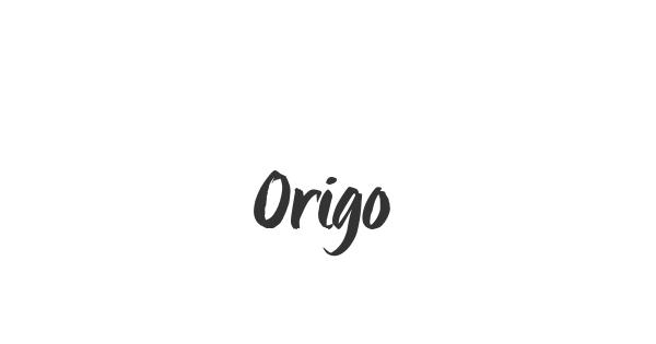 Origo font thumbnail