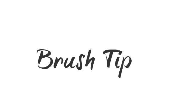 Brush Tip Terrence font thumbnail
