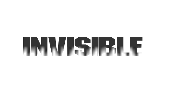 Invisible Killer font thumb