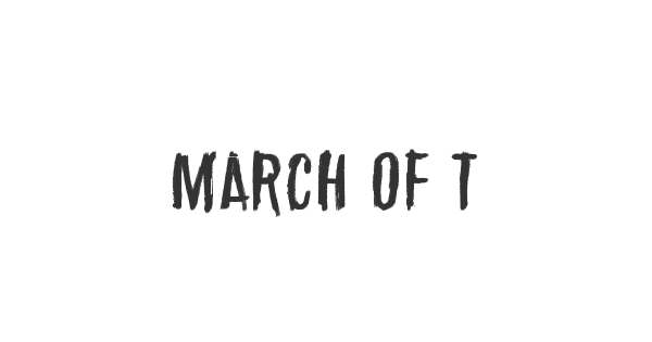 March of the pigs font thumb