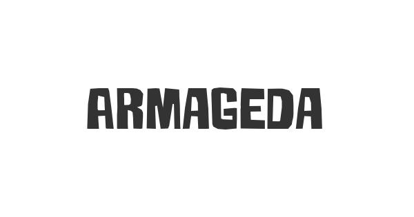 Armageda font thumb