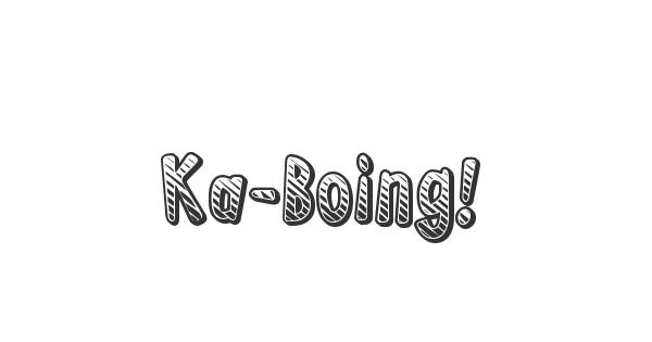 Ka-Boing! font thumb