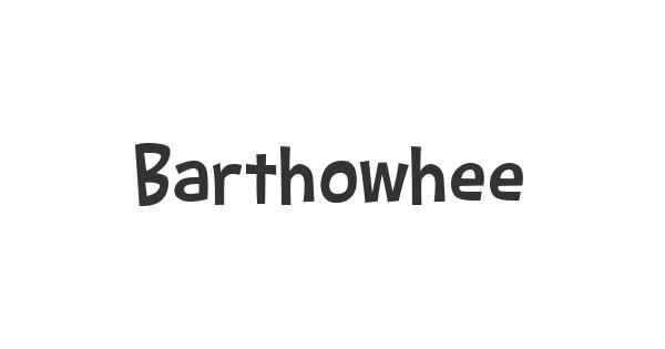 Barthowheel font thumb