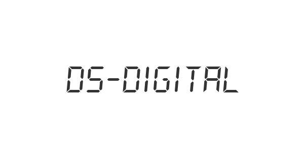 DS-Digital font thumb