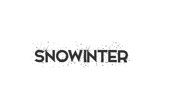 Snowinter font thumbnail