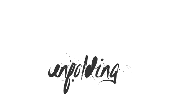 Unfolding Tragedy font thumb
