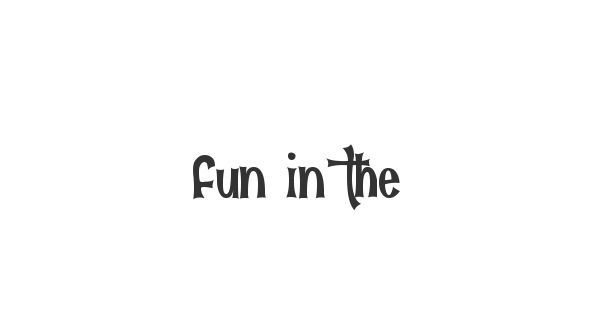 Fun in the Jungle font thumb
