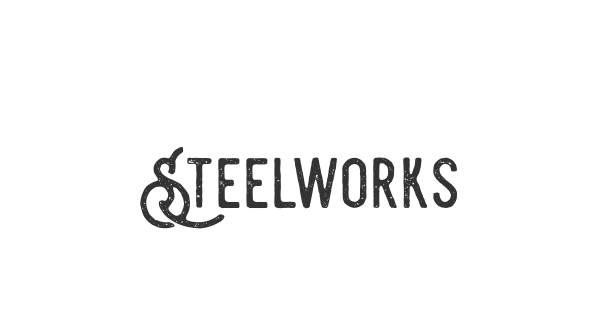 Steelworks font thumb