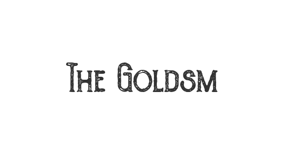 The Goldsmith Vintage font thumb