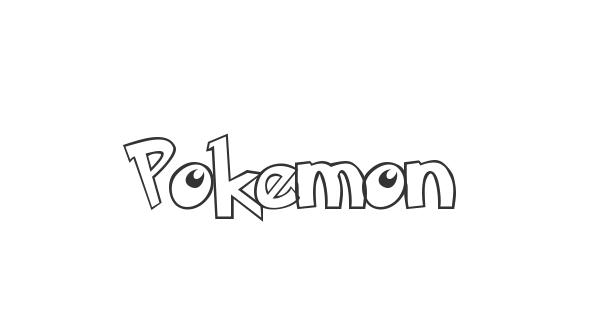 Pokemon font thumb