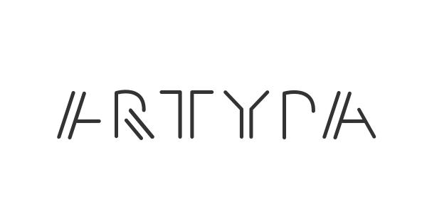 Artypa font thumb
