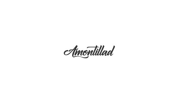 Amontillados font thumbnail