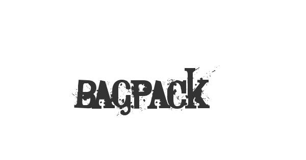 Bagpack font thumb