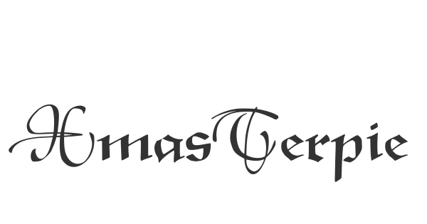 XmasTerpieceSwashes font thumbnail