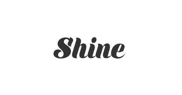 Shine font thumbnail