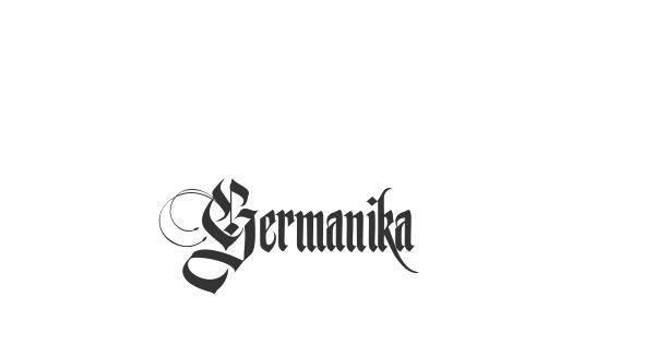 Germanika font thumb