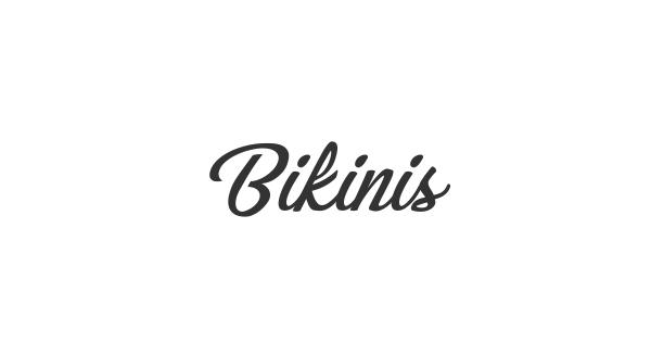 Bikinis font thumb