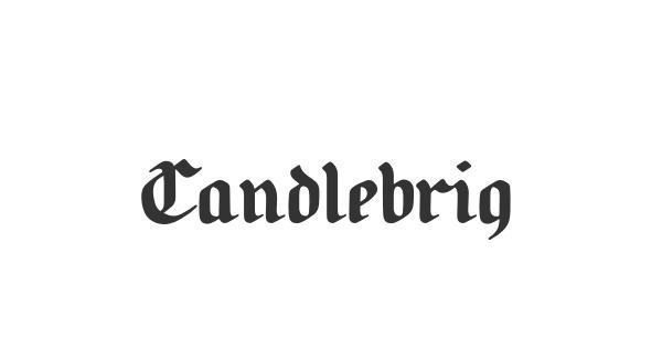 Candlebright font thumb