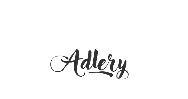 Adlery font thumb