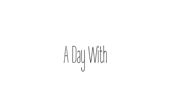 A Day Without Sun font thumb