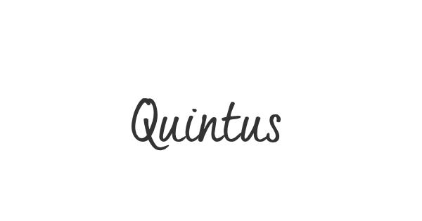Quintus font thumb