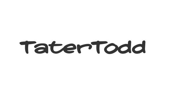 TaterTodd font thumb