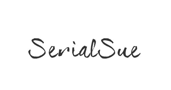 SerialSue font thumb