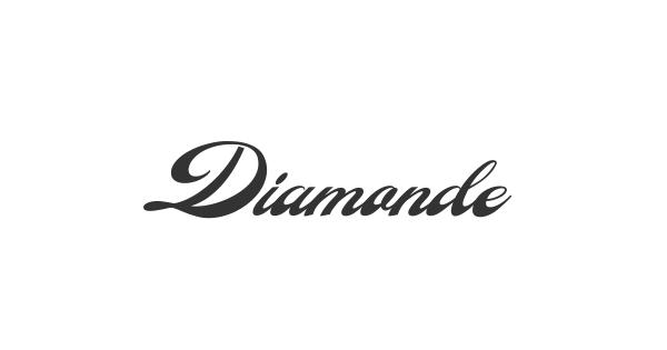 Diamonde font thumb