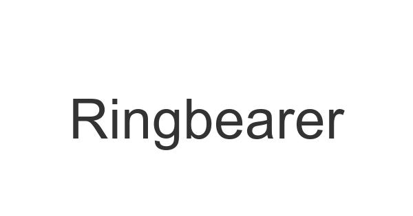 Ringbearer font thumbnail