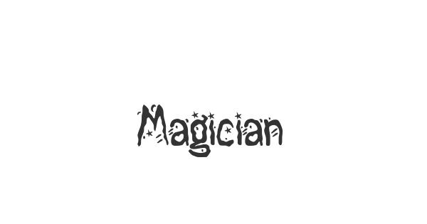 Magician font thumbnail